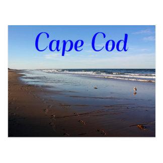 Cape Cod, cartão da praia de Massachusetts Nauset
