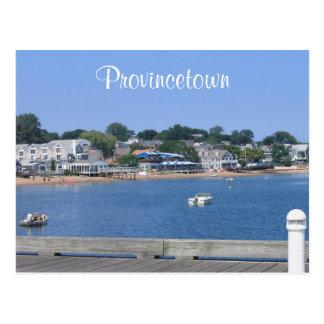 Cape Cod, cartão de Provincetown Massachusetts