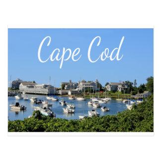 Cape Cod, cartão do porto de Wychmere das MÃES de