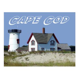Cape Cod, luz do porto do palco, cartão das MÃES