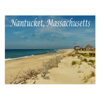 Cape Cod Nantucket, cartão de Massachusetts