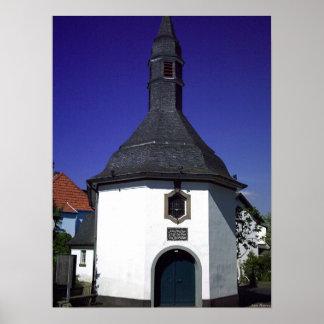 Capela histórica pôster