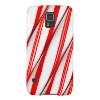Capinha Galaxy S5 Bastões de doces Funky de Chrstmas