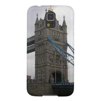Capinha Galaxy S5 Caixa da galáxia de Samsung com ponte da torre,