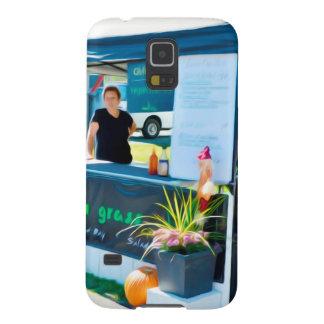 Capinha Galaxy S5 Galinha de Bahn MI da grade do nardo