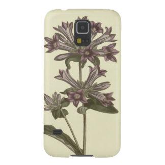 Capinha Galaxy S5 Ilustração botânica do Bellflower aglomerado