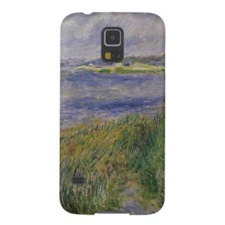 Capinha Galaxy S5 Pierre bancos de Renoir um   do Seine, Champrosay