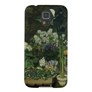 Capinha Galaxy S5 Pierre flores de Renoir um   em uma estufa