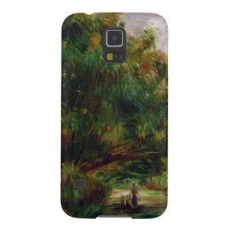 Capinha Galaxy S5 Pierre um Renoir   a estrada perto de Cagnes