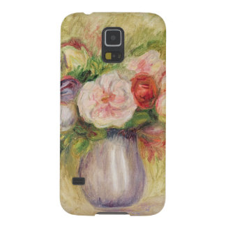 Capinha Galaxy S5 Pierre um vaso de Renoir   das flores