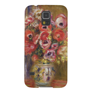 Capinha Galaxy S5 Pierre um vaso de Renoir   das tulipas e das