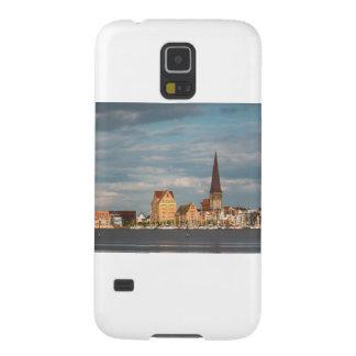 Capinha Galaxy S5 Vista sobre o rio Warnow a Rostock