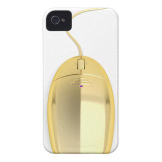 Capinha iPhone 4 Rato dourado do computador