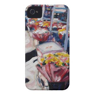 Capinha iPhone 4 rua Dublin de moore dos rosas amarelos