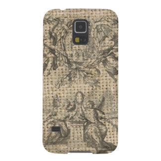 Capinhas Galaxy S5 anjo religioso do victorian do céu de serapilheira