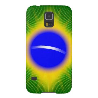 Capinhas Galaxy S5 Bandeira do Brasil
