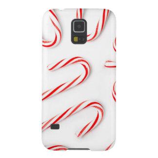 Capinhas Galaxy S5 Bastões de doces impressionantes do Natal