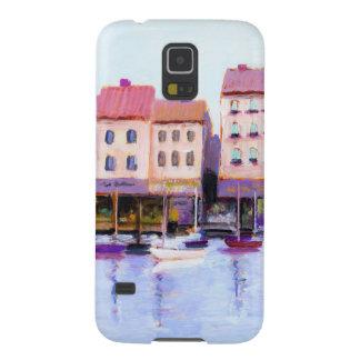 Capinhas Galaxy S5 Caixa francesa da galáxia do porto