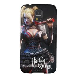 Capinhas Galaxy S5 Cavaleiro de Batman Arkham | Harley Quinn com