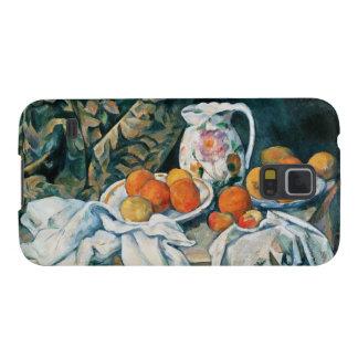 Capinhas Galaxy S5 De Cezanne cortina da vida ainda, jarro