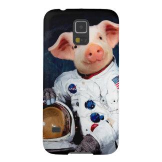 Capinhas Galaxy S5 Porco do astronauta - astronauta do espaço