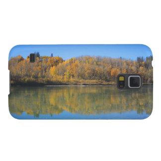 Capinhas Galaxy S5 Rio norte de Saskatchewan na queda