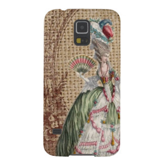 Capinhas Galaxy S5 serapilheira francesa barroco Marie Antoinette do
