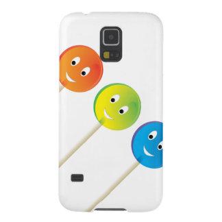 Capinhas Galaxy S5 Três pirulitos de sorriso