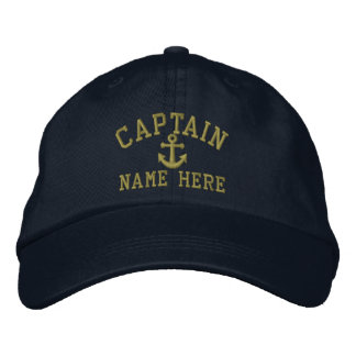 Capitão - customizável boné bordado