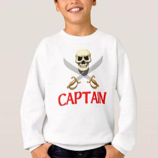 capitão do pirata 3D Tshirts