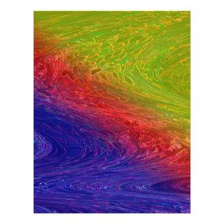 Capitão esperto do arco-íris da rua flyer 21.59 x 27.94cm