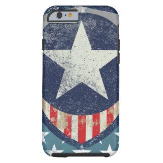 Capitão Liberdade Caso Capa Tough Para iPhone 6