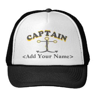 Capitão personalizado Chapéu Boné