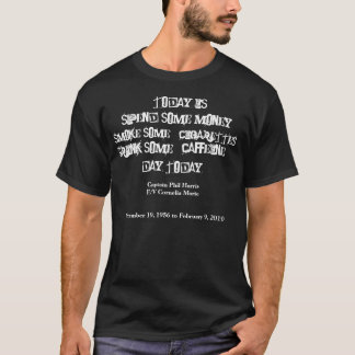 Capitão Phil Harris Camiseta