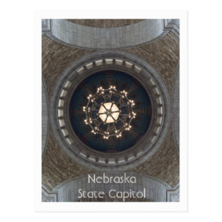 Capitólio do estado de Nebraska Cartão Postal