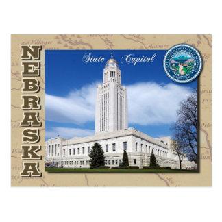Capitólio do estado de Nebraska, Lincoln, Nebraska Cartão Postal