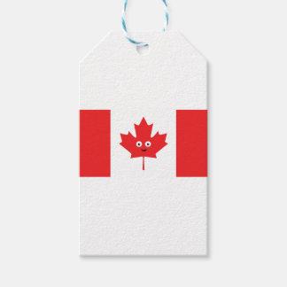 Cara canadense da folha de bordo