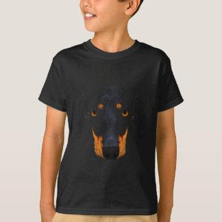 Cara do cão do Dachshund Tshirt