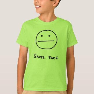 Cara do jogo camiseta
