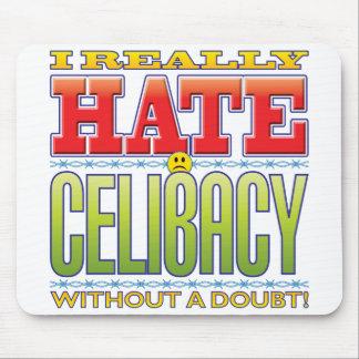 Cara do ódio do celibato mousepads