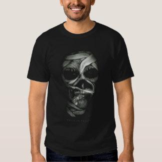 Cara do zombi do Dia das Bruxas Camiseta