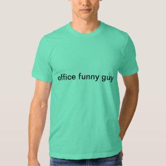 cara engraçada do escritório t-shirts
