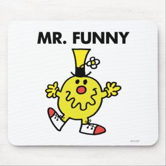 Cara engraçada do Sr. Engraçado | Mouse Pad