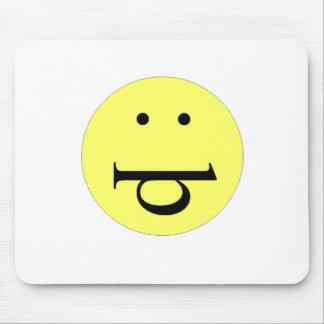 Cara engraçada mouse pad