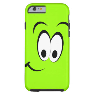 Cara feliz bonito capa tough para iPhone 6