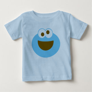 Cara grande do bebê do monstro do biscoito tshirt