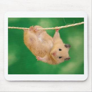 cara pequena engraçada bonito mouse pad