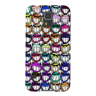 Caras de arreganho Toothy, caras de sorriso, caras Capinha Galaxy S5