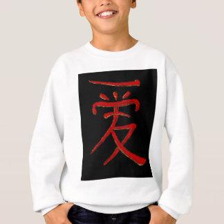 caráter chinês para o amor tshirt