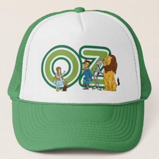 Caráteres de mágico de Oz do vintage e letras do Boné